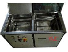 Vapour Degreaser Multistage ultrasonic cleaners